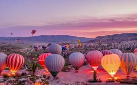 Ankara Çıkışlı Kapadokya Turu 1 Gece Konaklama